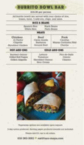 2019 - Taco Maya -Catering - Burrito Bow