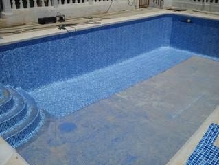Laminas de PVC para piscinas