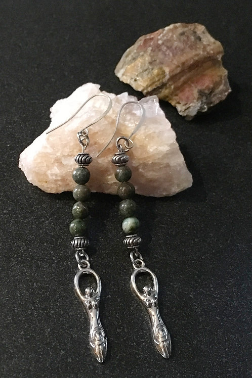 Goddess Hanging Earrings