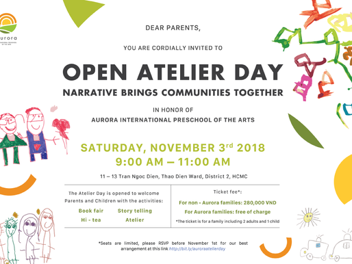 THE OPEN ATELIER DAY