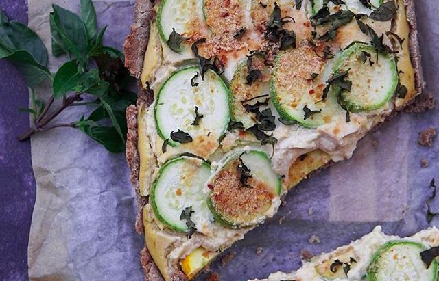 Fr : Tarte courgette sans gluten / en : Zucchini gluten free pie