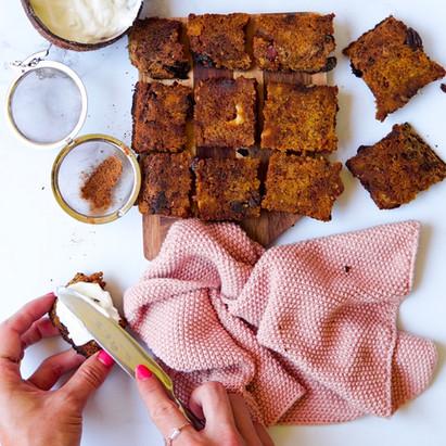 Fr : Carrot cake vegan et sans gluten / En : Vegan gluten free carrot cake