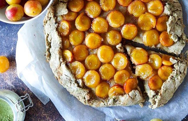 Fr : Tarte aux mirabelles / En : Cheery plum pie
