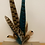 Thumbnail: Large Feather Brooch/Hat Pin