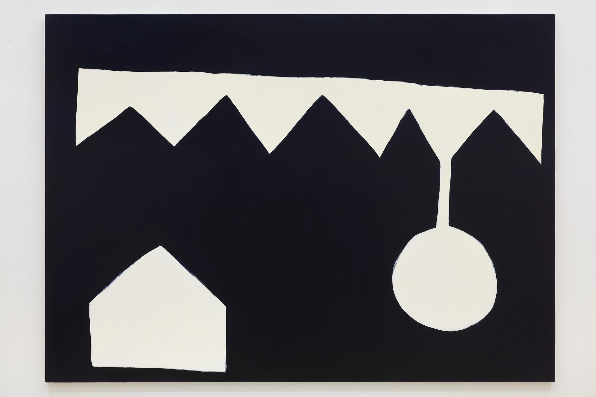 Stephen Felton Nightfall, 2020 Acrylic on canvas 63 x 88 inches