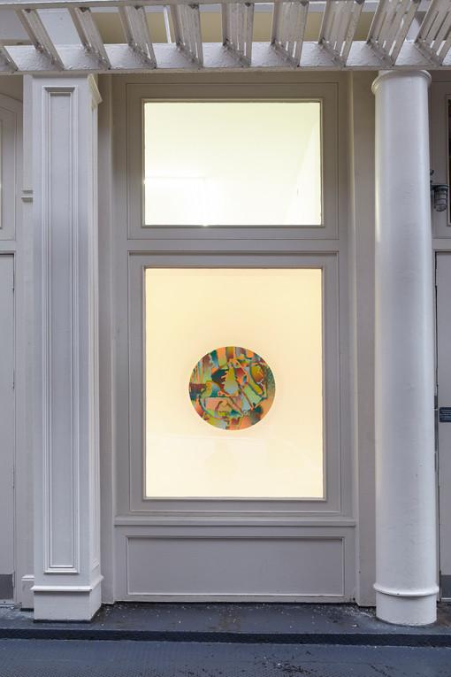 Morgan Blair  Tennis Elbow 59  Window Installation View