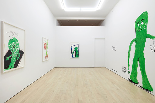 Raymond Pettibon  Tennis Elbow 70  Installation View