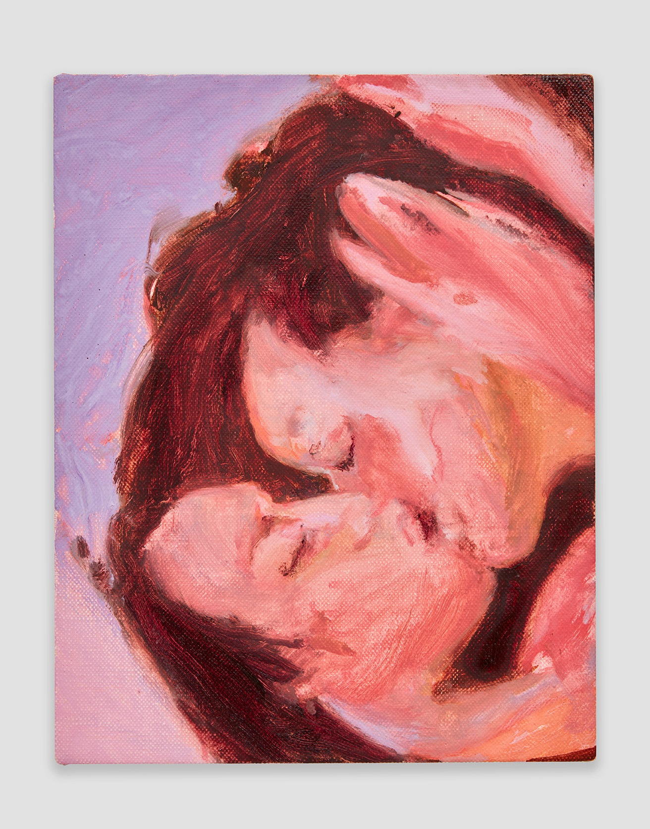 Nicole Wittenberg Bedtime Kiss, 2020Oil on canvas14 x 11 inches