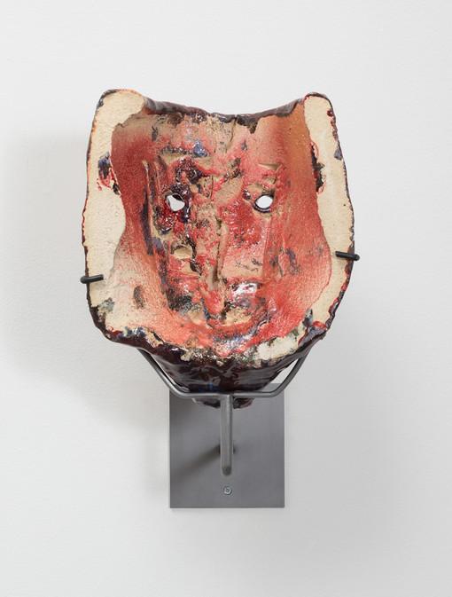Cameron Jamie  Untitled, 2014-2015  Glazed ceramic  12 1/4 x 10 x 6 7/8 inches