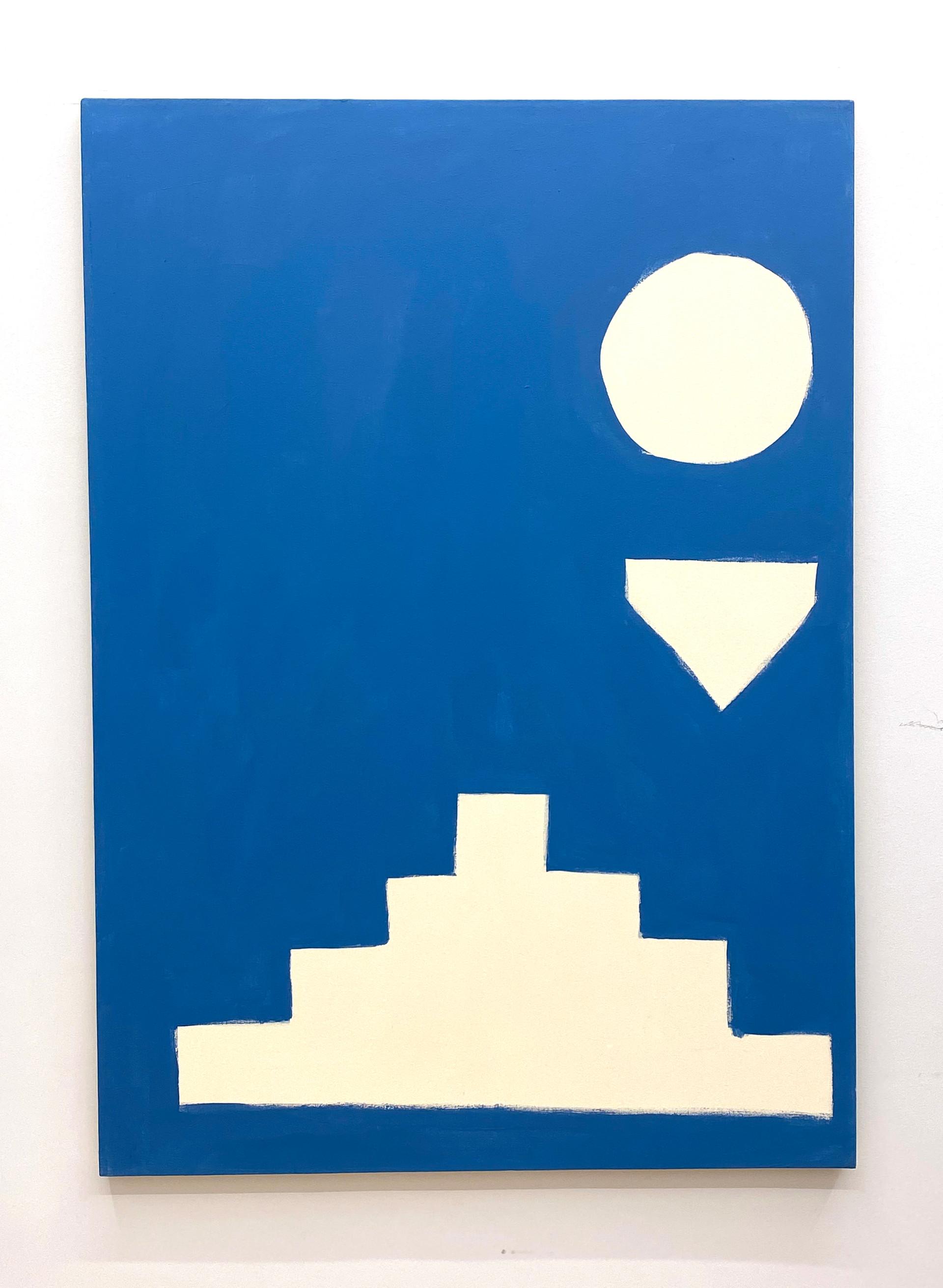 Stephen Felton Untitled, 2019 Acrylic on canvas 55 x 39 inches