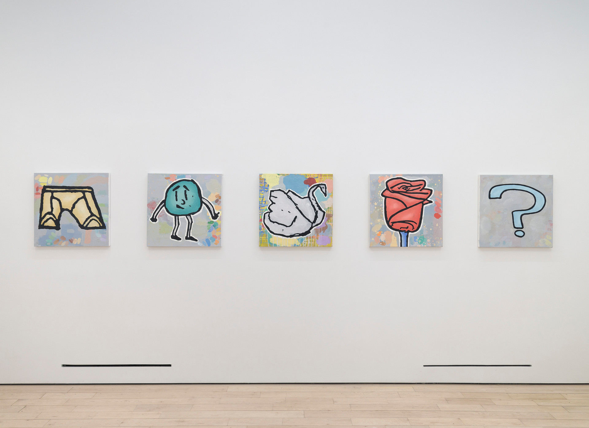Donald Baechler  Tennis Elbow 65  Installation View