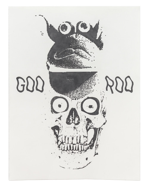 Goo Roo, 2018 Graphite on paper 48 x 36 inches