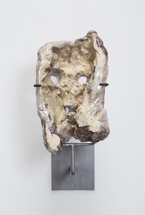 Cameron Jamie  Untitled, 2014-2015  Glazed ceramic  12 x 7 x 6 1/4 inches