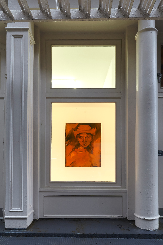 Chloe Wise  Tennis Elbow 60  Window Installation View