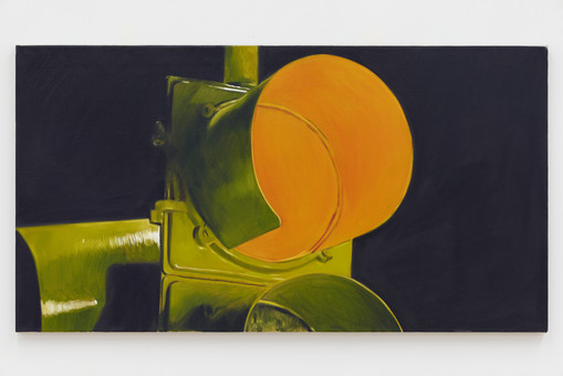 Oliver Clegg  Untitled, 2019  Oil on linen  44 x 50 inches