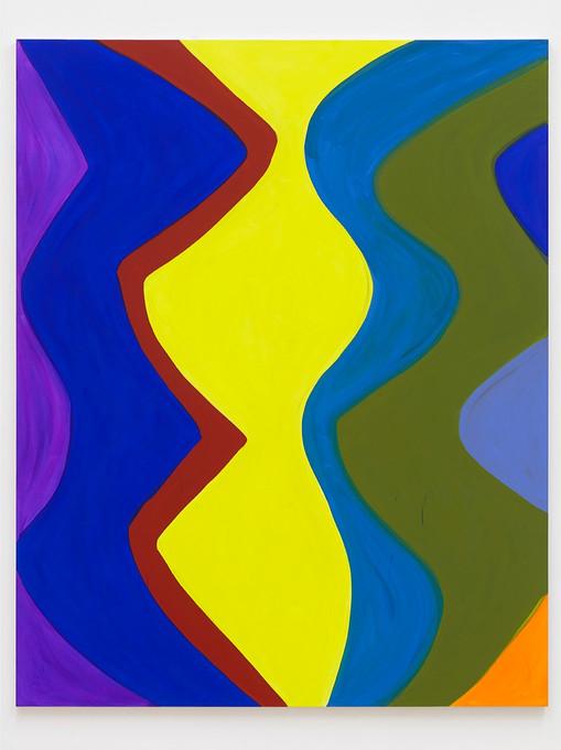 Marina Adams Les Demoiselles, 2019  Acrylic on linen 98 x 78 inches