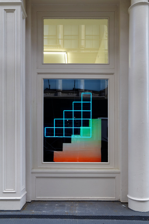 Window View  Blair Thurman in Tennis Elbow at The Journal Gallery