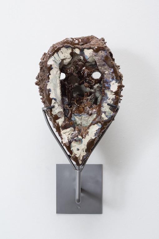 Cameron Jamie  Untitled, 2014-2015  Glazed ceramic  12 3/4 x 7 3/4 x 7 1/8 inches