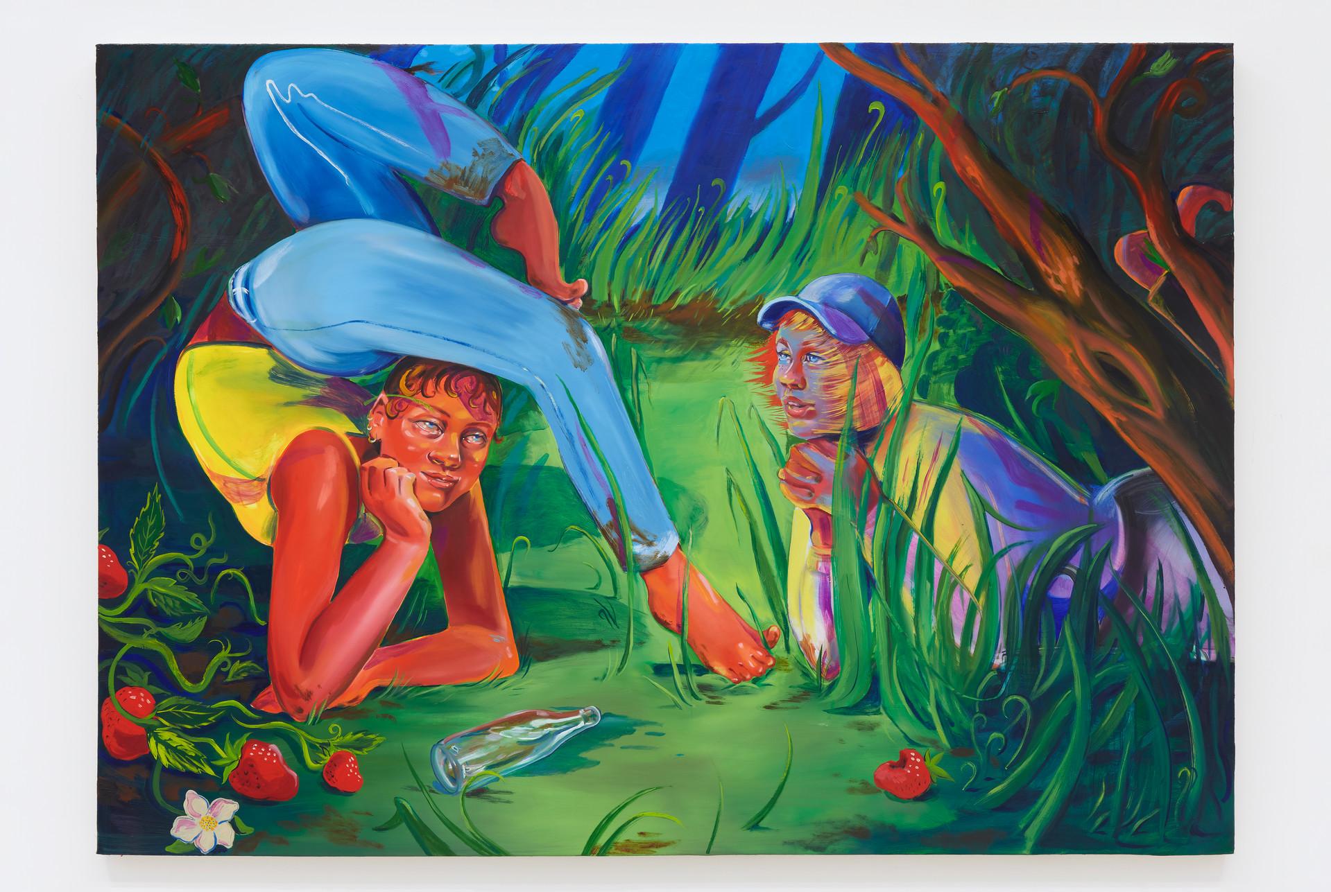 Haley Josephs  Mundy's Corner, Nanty Glo, 2019 Oil on canvas 60 x 84 inches