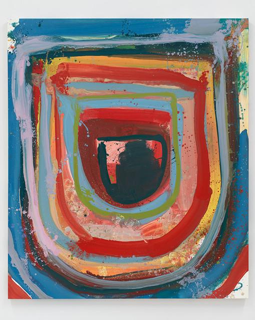 Federico de Francesco  Corrente I, 2020  Oil on canvas  84 x 72 inches