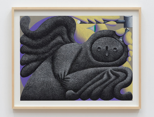 Eleanor Swordy Carving, 2021 Pastel on paper 18 x 24 inches 21.5 x 27.5 x 1.5 inches (framed)