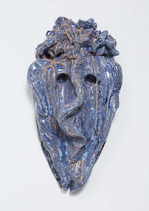Cameron Jamie  Untitled, 2015   Glazed ceramic  16 1/2 x 9 x 5 1/2 inches