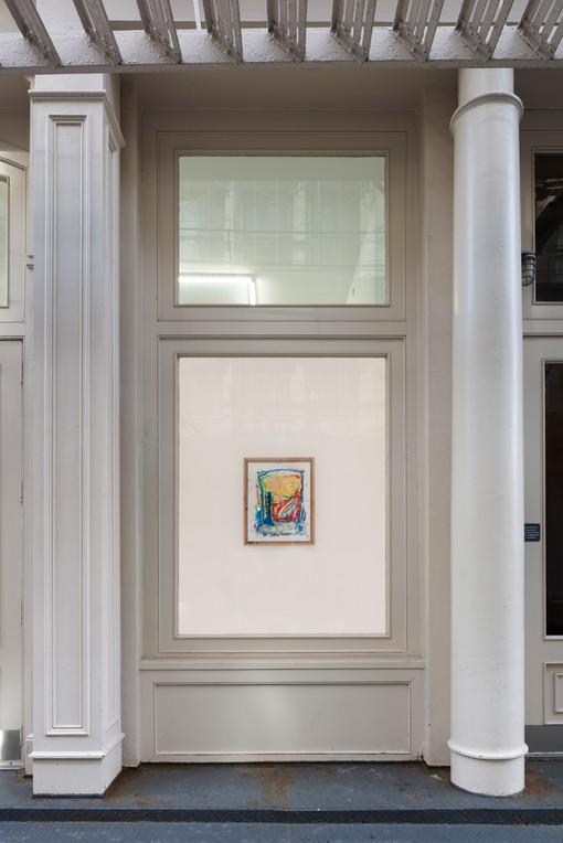 Marco Pariani  Tennis Elbow 64 Window Installation View