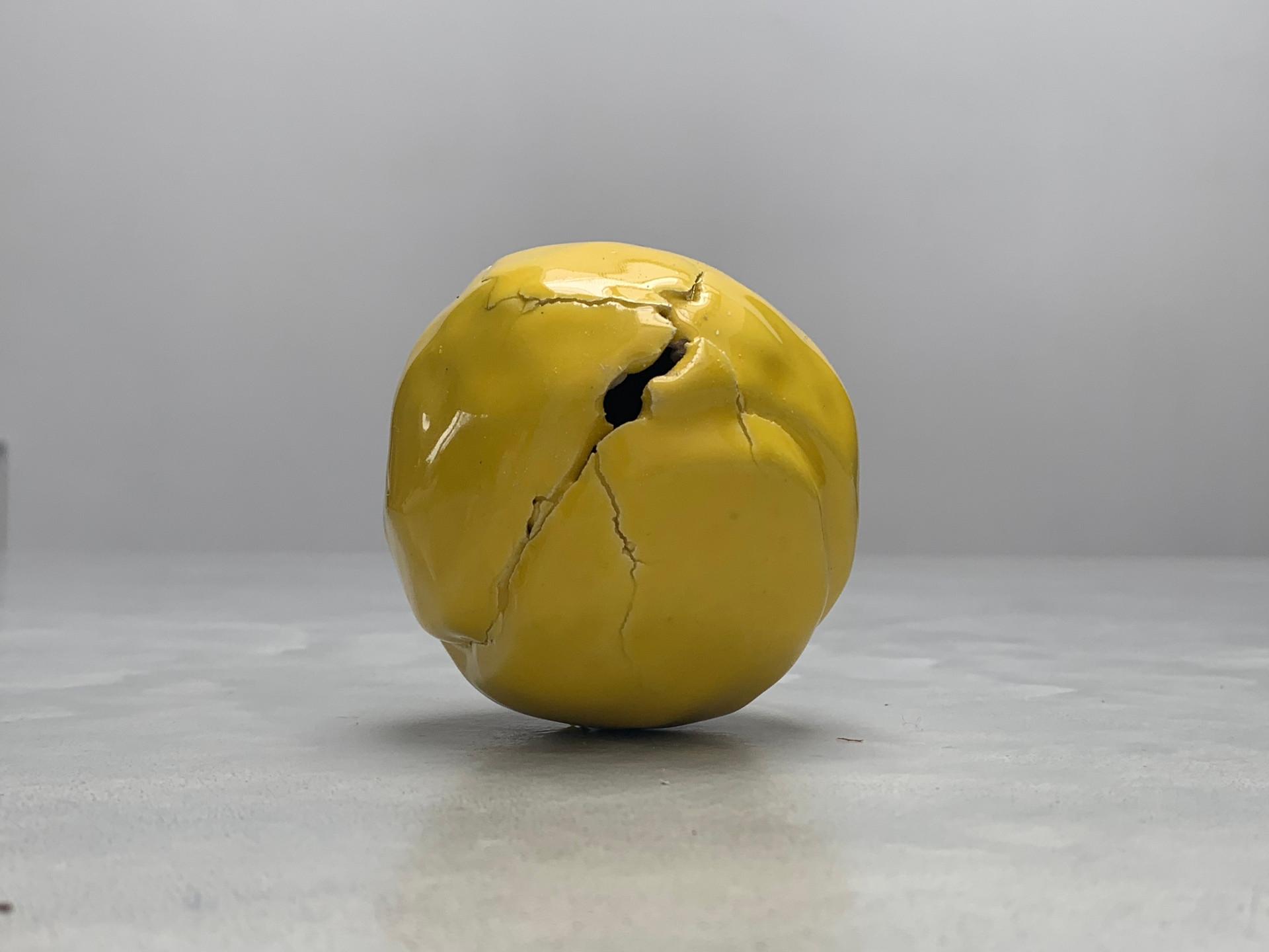 Untitled, 2019 Glazed ceramic 3 x 3 x 3 inches