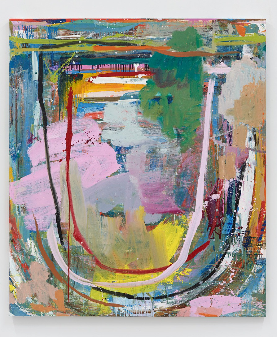 Federico de Francesco  Gigue I, 2020  Oil on canvas  84 x 72 inches