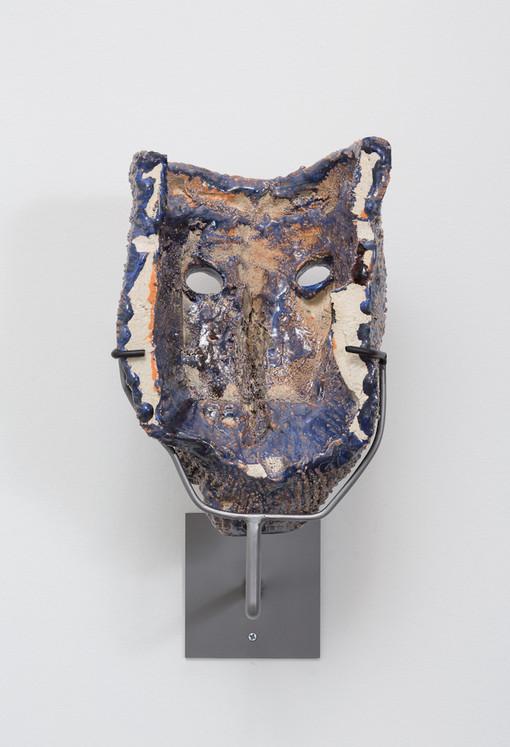 Cameron Jamie  Untitled, 2014-2015  Glazed ceramic  12 1/2 x 8 x 8 1/2 inches