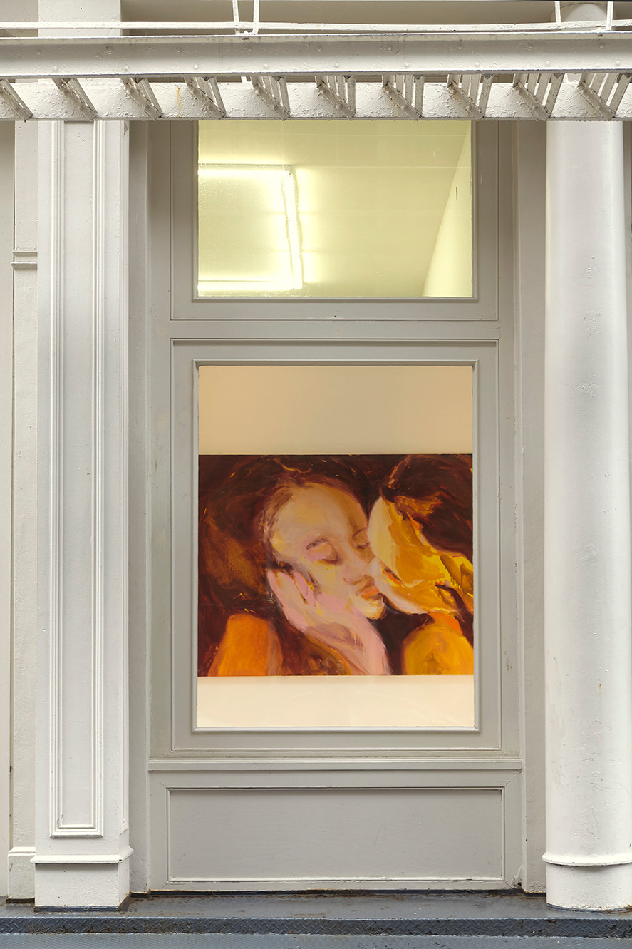 Nicole Wittenberg  Tennis Elbow 68  Window Installation View