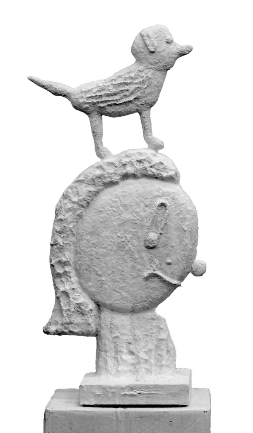 Donald Baechler  Untitled, 2020  Plaster model  27 1/4 x 12 x 2 1/4 inches  Edition of 8