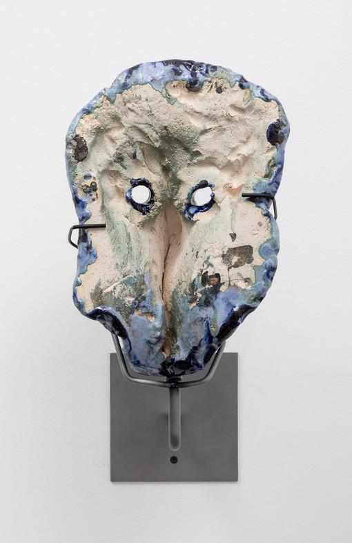 Cameron Jamie  My Blue Star, 2019  Glazed ceramic  13 1/2 x 9 x 7 inches