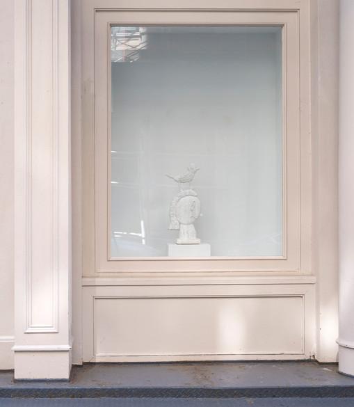 Donald Baechler  Tennis Elbow 65  Window Installation View