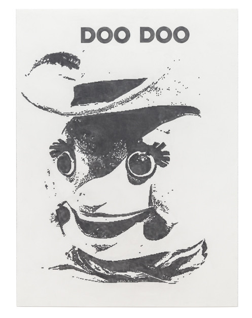 Doo Doo, 2018 Graphite on paper 48 x 36 inches
