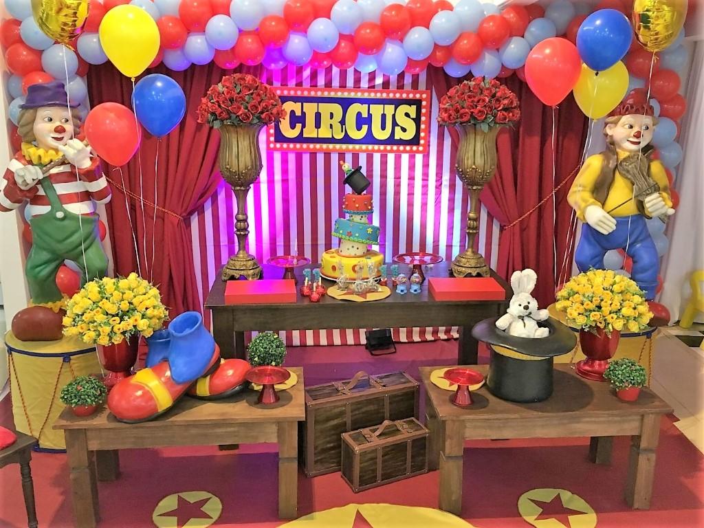 Decoração Circus