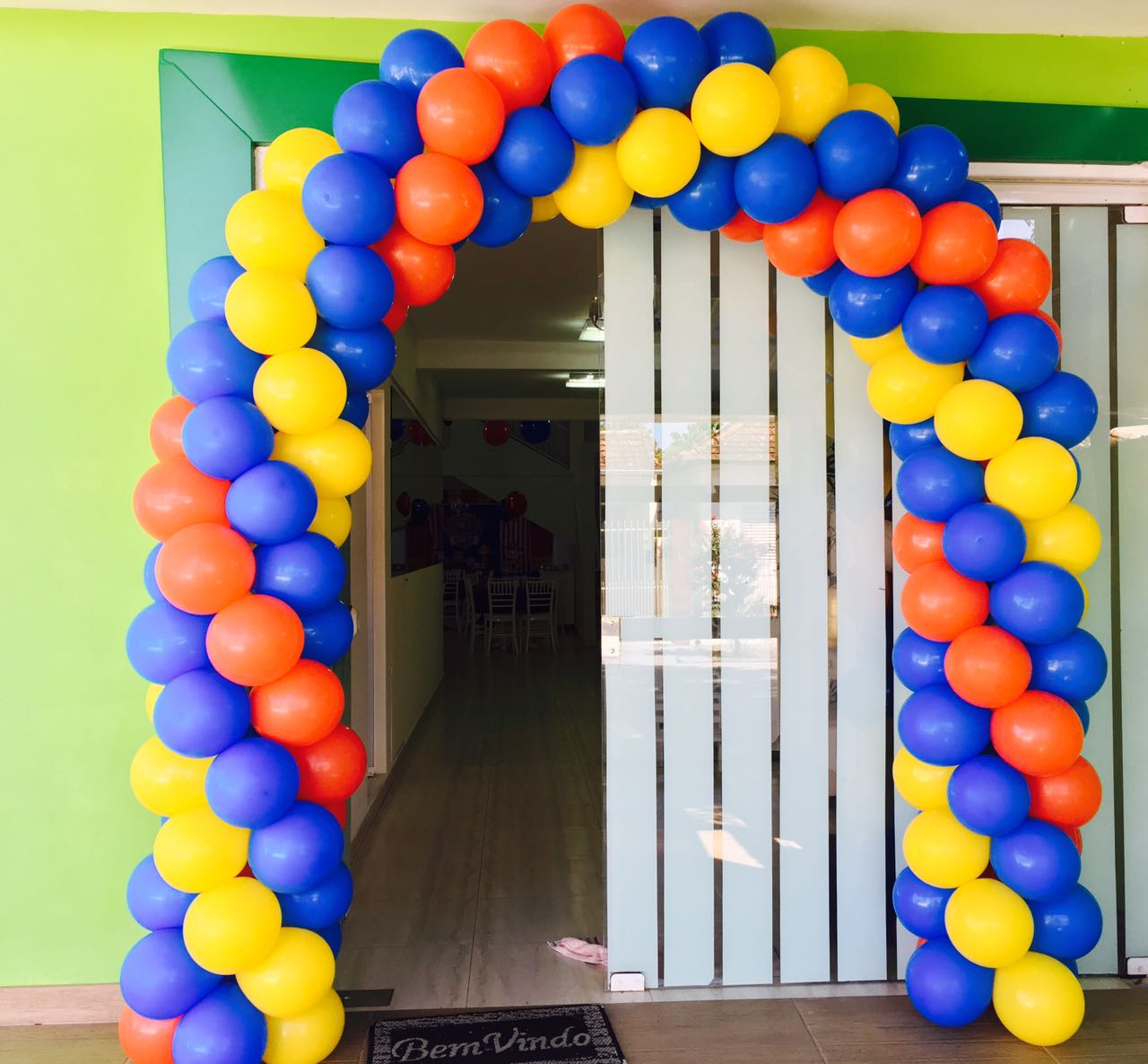 Arco baloes