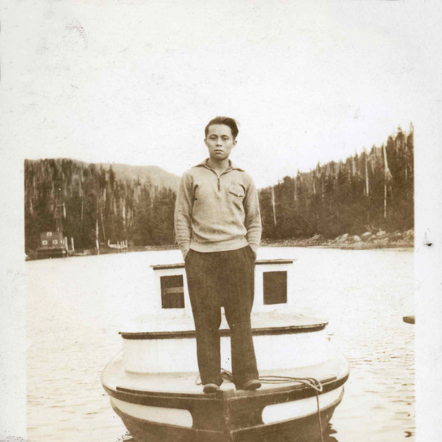 Unknown Man on Boat