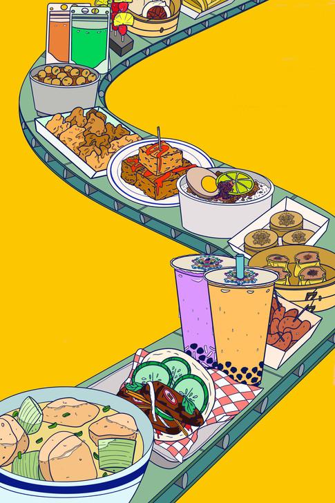 Food Cart Festivities