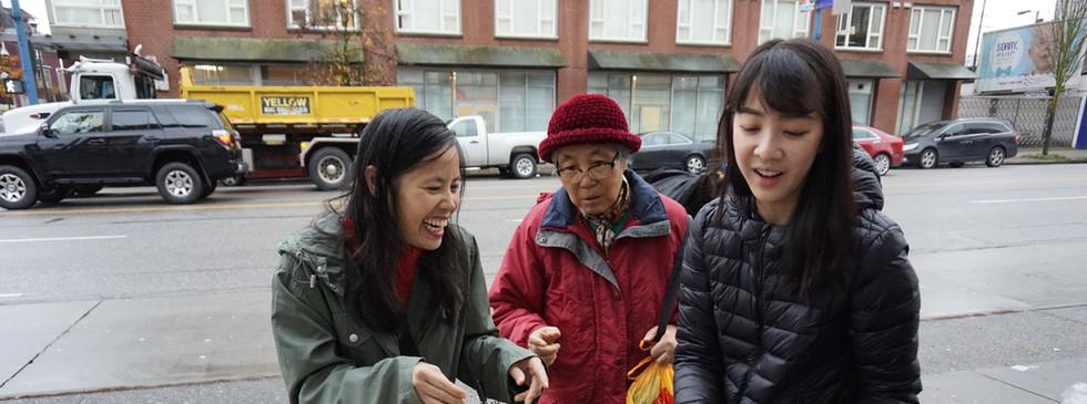 Chatting with Seniors