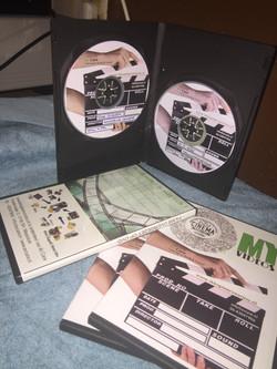 dvd met label
