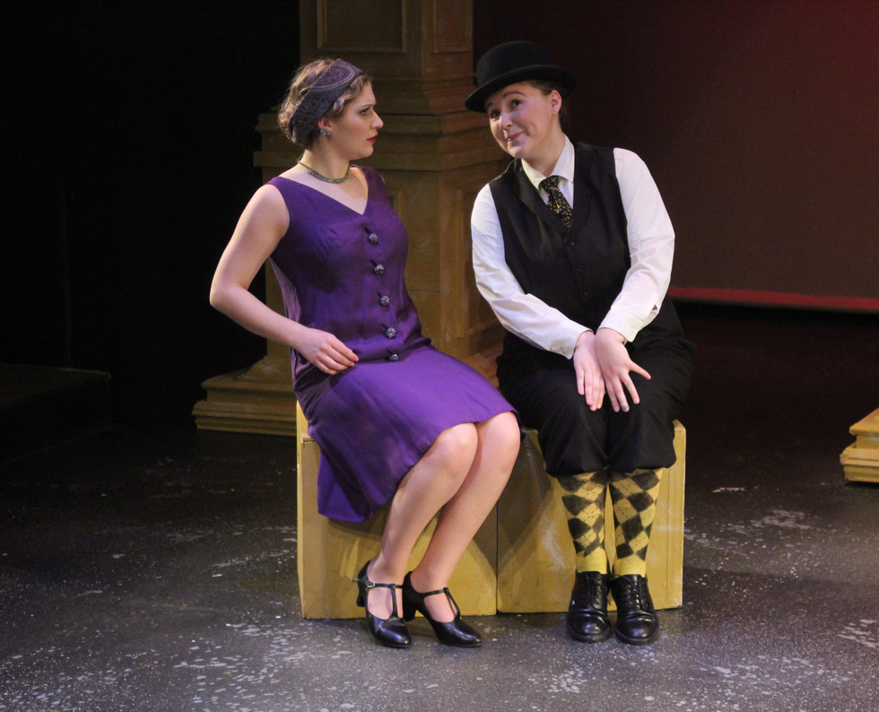 Olivia and Malvolio