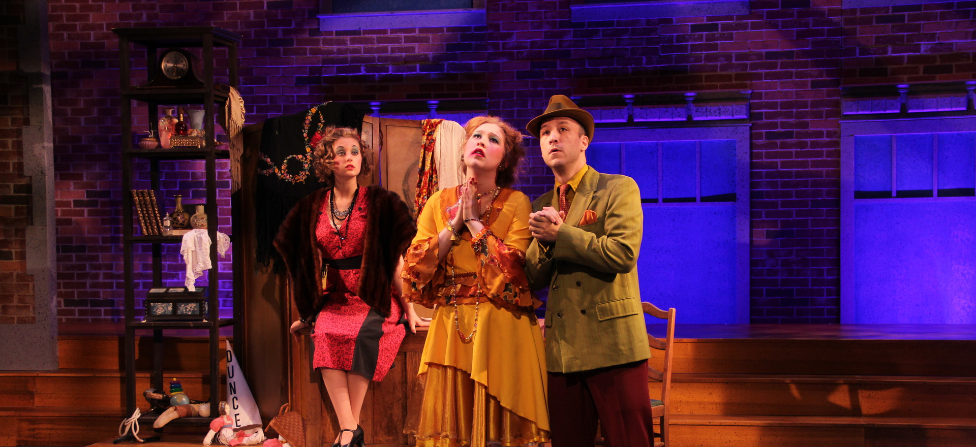 Hannigan, Rooster, and Lily St Regis