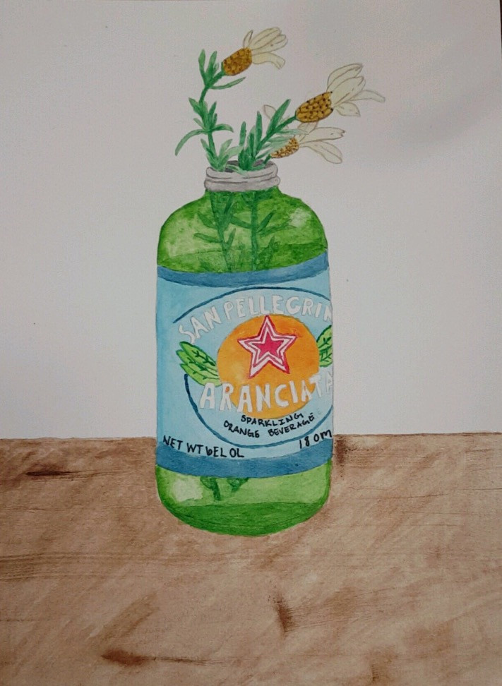 Bottle Painting