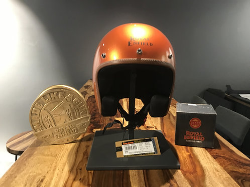 CASQUE ROYAL ENFIELD ORANGE CRUSH