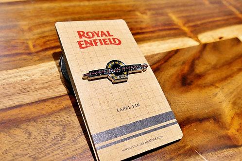PINS OFFICIEL ROYAL ENFIELD INTERCEPTOR