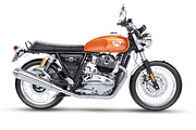 ROYAL ENFIELD INTERCEPTOR ORANGE CRUSH T