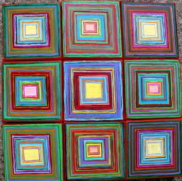 Abstract (2015)  Acrylic 12x12