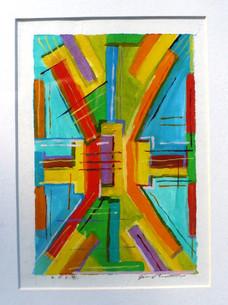 Abstract (2014)  Acrylic 5x7