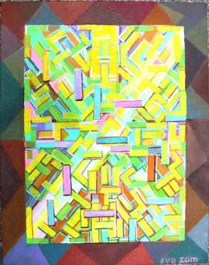 Abstract (2015)  Acrylic 11x14